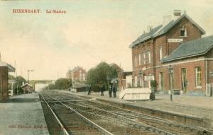 X14 20140901. La Station (gare de Rixensart) 19120901 © Jean-Claude Renier.jpg