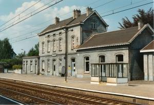 1233. Gare de Rixensart 5.1990 © Jean-Claude Renier-001.jpg