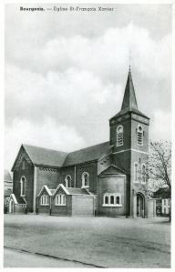 rixensart,bourgeois,églises,place cardinal mercier,saint-françois-xavier