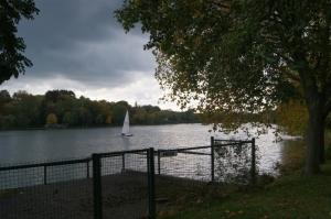 genval,lac de genval,canotage