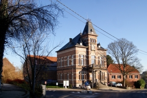 genval,maison communale,place communale