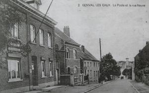 364. La Poste et la rue Neuve Collection Cercle d'Histoire de Rixensart.jpg