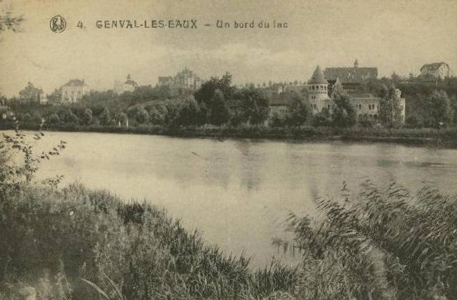 1920 Genval Un bord du lac