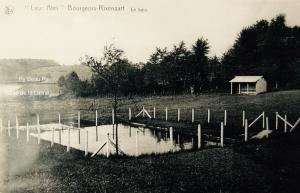 20160503L Le bain rue de la Bassettte (dans le creux, la vallée de la Lasne) 1930 c CHR coll A. Degryse.jpg