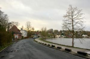 genval,lac de genval,avenue du lac,inondations
