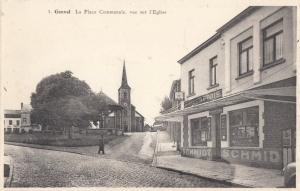 1469. La Place Communale vue sur l'Eglise Genval c T.jpg