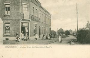 rixensart,gare de rixensart,ligne 161,delhaize,rue de la station