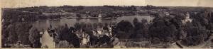 1517. Panorama du Lac de Genval vu de la terrasse des Hirondelles montage c Christian Lannoye.jpg
