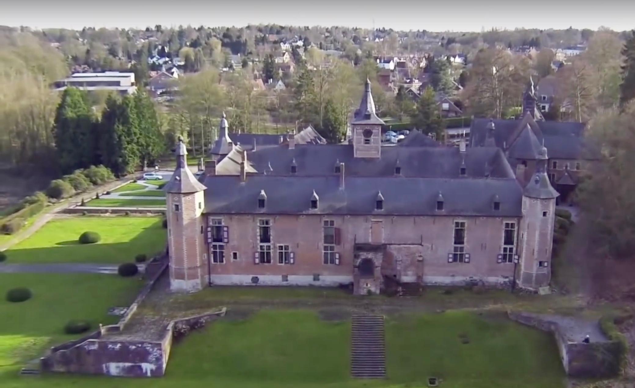 Château de Rixensart Extrait video réalisée en 2014 par SkySnap