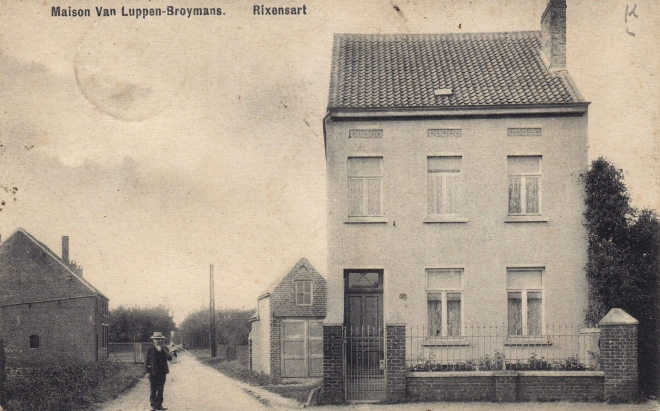 1 Maison Van Luppen-Broymans avenue de Merode 1909 coll. Jean-Louis Lebrun