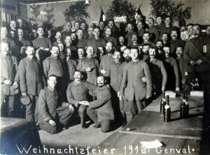 20161224. 24 décembre 1916 Genval Noël 1916 Collection Cercle d'Histoire de Rixensart.jpg