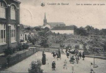genval,école notre-dame-des-anges,couvent de genval