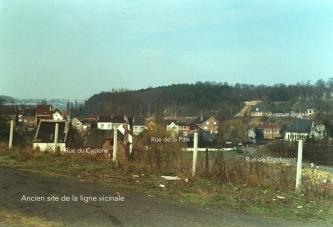 rixensart,ligne vicinale, rue de froidmont