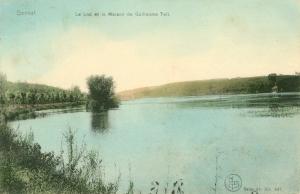 20170325. Lac de Genval et son île circ 1907 c JCR Martin.jpg