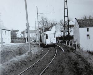 Arrêt Shoppe à la limite de Rixensart début années 60 B c CHR.jpg