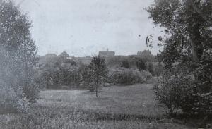 1757. Parc de Genval vue sur la rive nord-ouest du lac de Genval 1919 c CHR coll A. Degryse.jpg