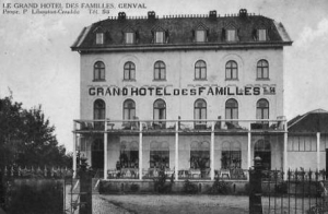genval,rue du tilleul,grand hôtel des familles,horeca