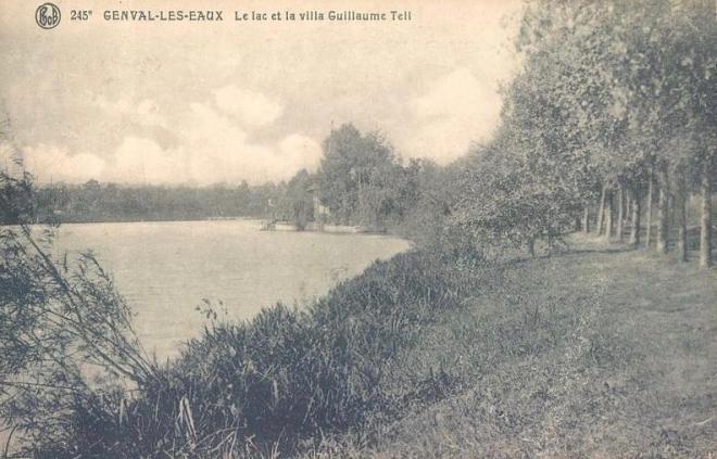 Lac de Genval avant 1923 coll; Patrimoine rixensartois 0 (1)