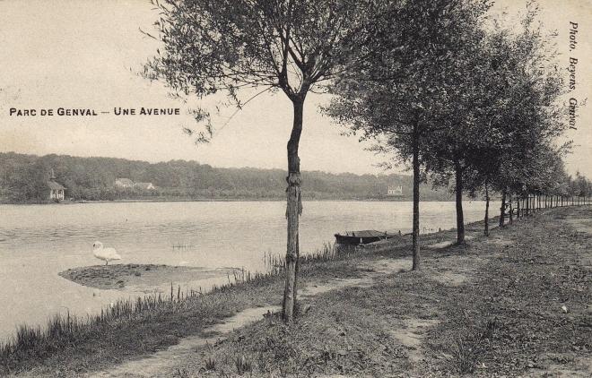 Une avenue Parc de Genval 1909 c Anne-Marie Delvaux