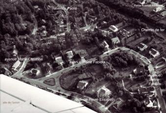 rixensart,vue aérienne,quartier royal