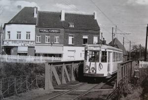 rixensart,ligne vicinale,trams,pont du vicinal