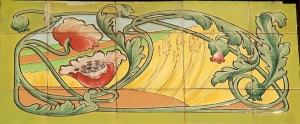 genval,gare de genval,sgraffites,art nouveau
