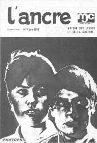L'Ancre, n° 1 de juin 1969