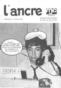 L'Ancre, n° 2 de septembre 1969