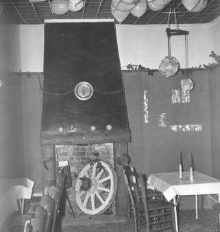 Intérieur de la première Maison des Jeunes