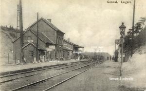 genval,première gare de genval,gare de marchandises de genval
