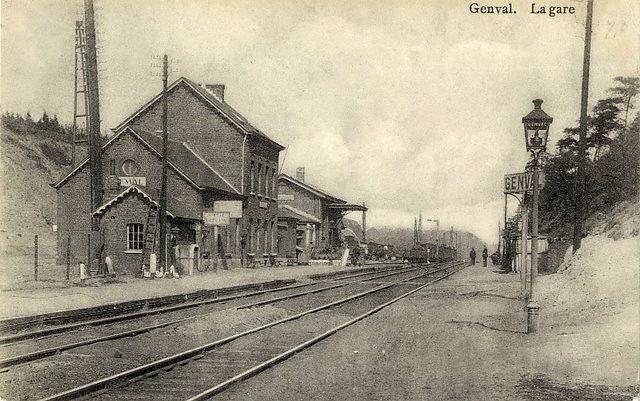 Gare de Genval début 20e