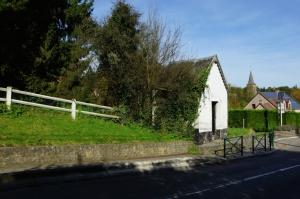 rosières,rue de la hulpe,chapelle de la vierge saint-roch et saint-guidon