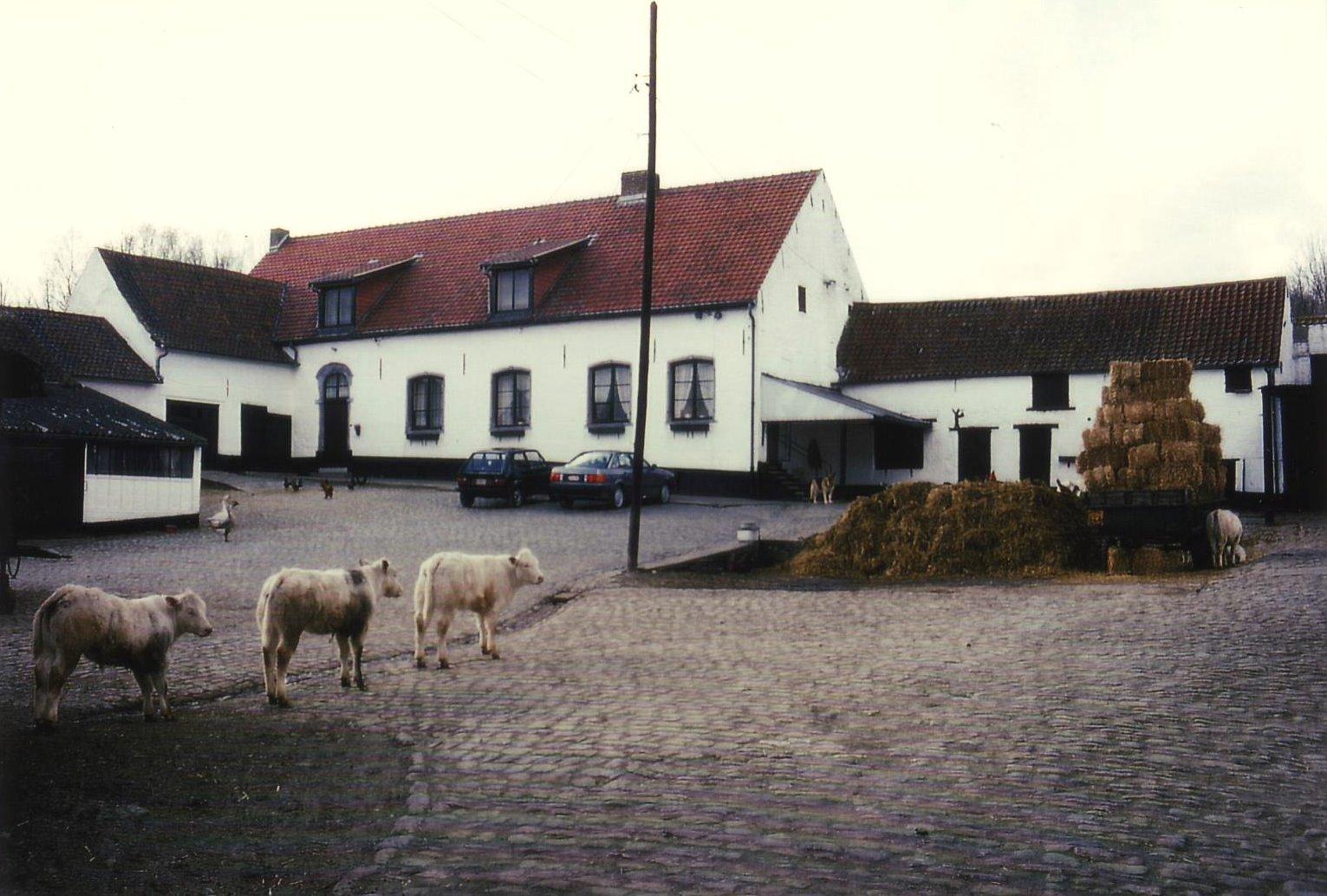 Ferme Terfosse 1992-1995 © Hommes et Patrimoine