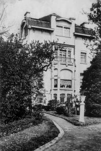 genval,avenue des combattants,villa-beau-site arrière,art nouveau