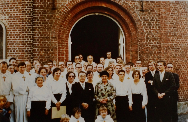 avant 1982 Chorale de Bourgeois coll. Philippe Sterckx