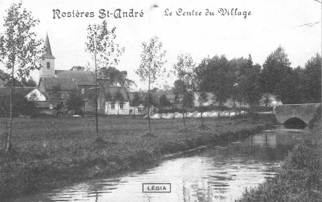 Le Centre du Village de Rosières Saint-André Collection Michel Delabye