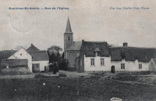 Rue de l'Eglise - Rosières St. André Collection Michel Delabye