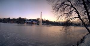 genval,lac de genval,lac de genval gelé