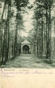 rixensart,bois de rixensart,drève du calvaire,chapelle du calvaire