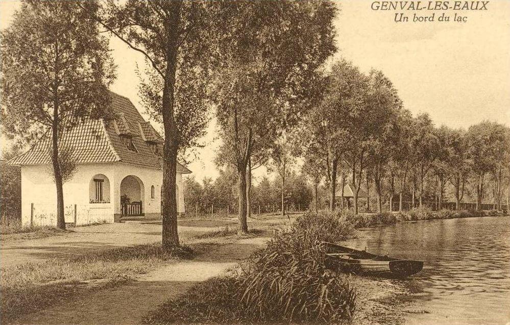 1260. La maison du garde lac de Genval 1926 c Francis Broche
