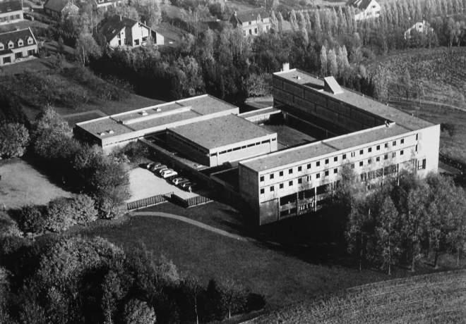 179. Monastère des Bénédictines 1975 Collection Cercle d'Histoire de Rixensart - copie
