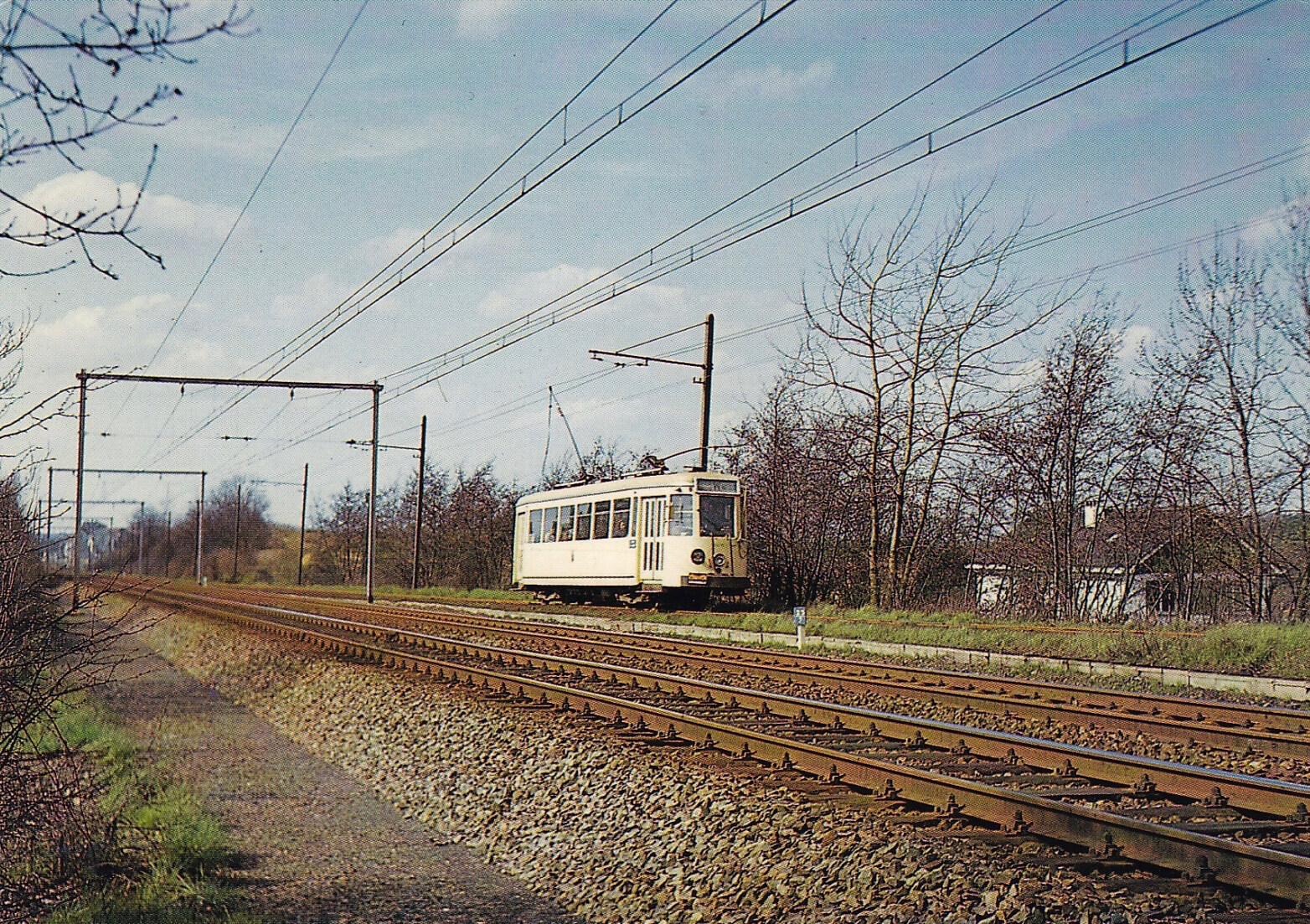 180502 Tram vicinal le long de la voie ferrée Rixensart © Jean-Louis Lebrun