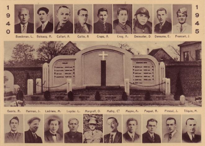 180507 Fusillés et résistants rixensartois morts en service recommandé
