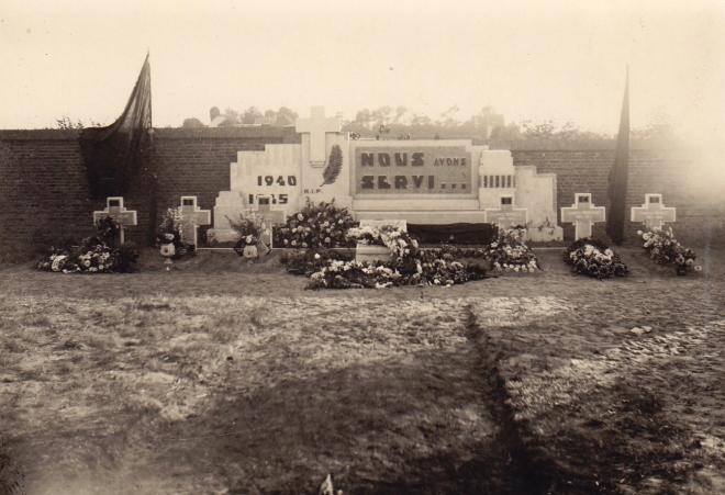 180508 Inauguration du Monument des Fusillés et Résistants de Rixensart années 50 © Christiane Dandumont1