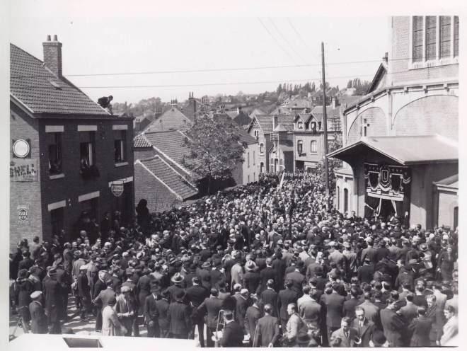1938 1 juin Funérailles d'Auguste Lannoye à Genval c Fonds Lannoye (Ed. Rétro Rixensart)_6
