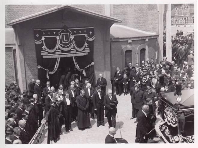 1938 1 juin Funérailles d'Auguste Lannoye à Genval c Fonds Lannoye (Ed. Rétro Rixensart)_7
