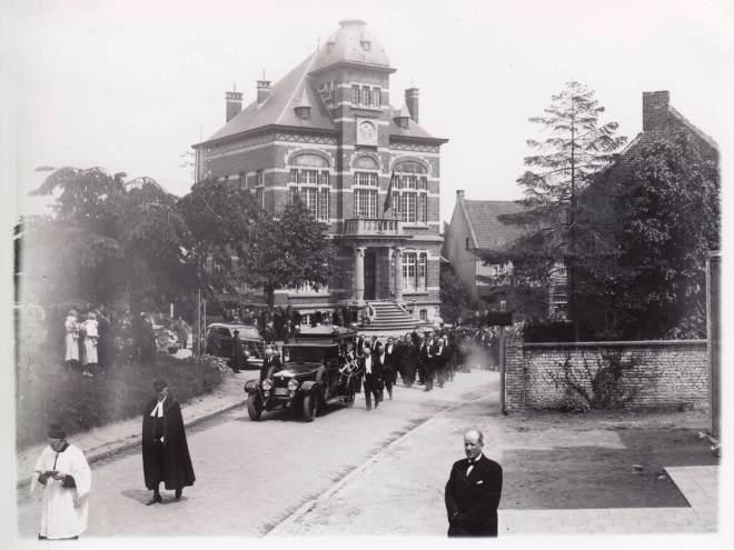 1938 1 juin Funérailles d'Auguste Lannoye à Genval c Fonds Lannoye (Ed. Rétro Rixensart)_8