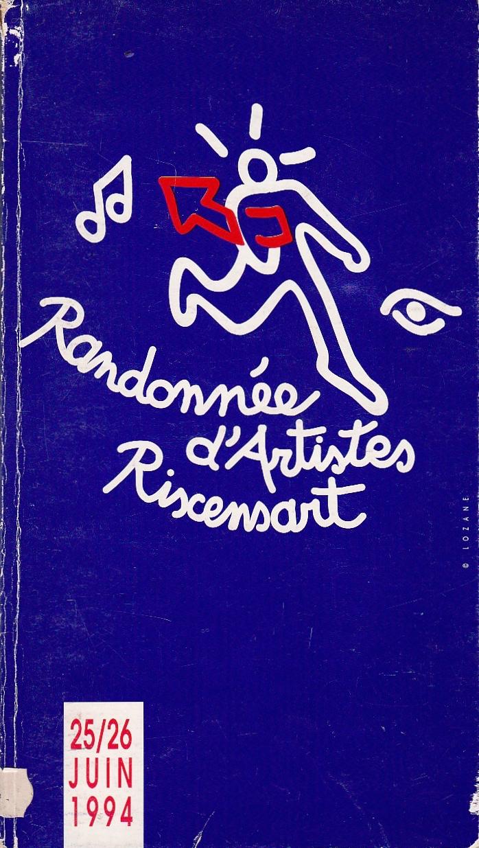 Première Randonnée d'Artistes Rixensart juin 1994