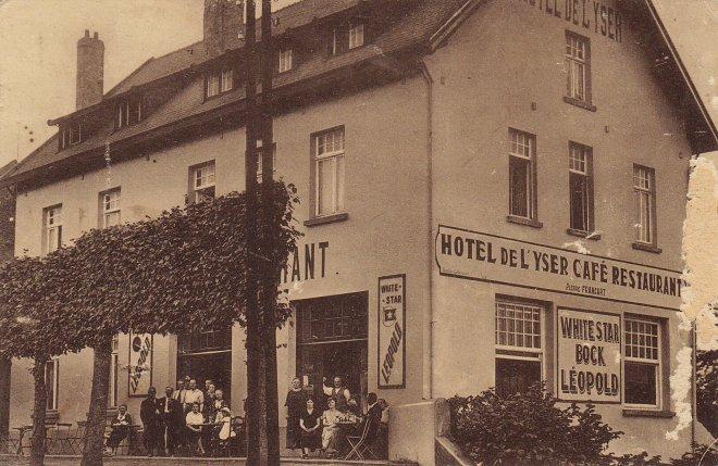 1096 -Hôtel de l'Yser rue de la Gare Rixensart c Anne-Marie Delvaux