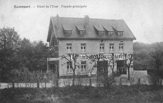 1372. Hôtel de l'Yser 1920 c JCR CCB